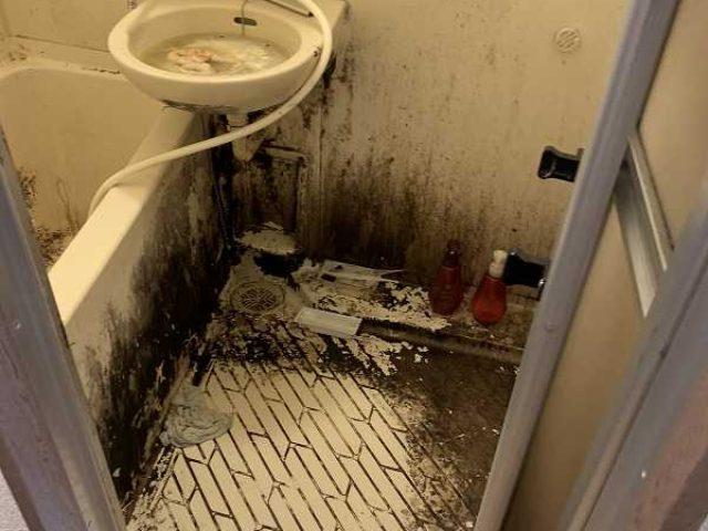 浴室内特殊清掃